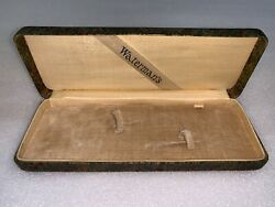 Rare Vintage 1920s Waterman Pen And Pencil Set Box Case Only