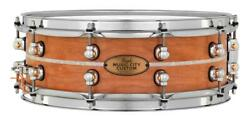 Pearl Music City Custom Solid Cherry 14x5 Snare Drum - Natural With Marine Pe...
