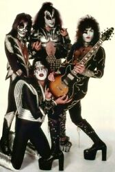 KISS Rock Band Destroyer Era quot;White Roomquot; Reproduction 24 x 36 Inch Poster Gift