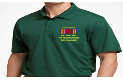 World War Ii Ribbon 79th Infantry Divisionembroidered Polo Shirt/sweat/jacket.