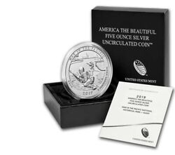 2019-p 5 Oz Atb War In The Pacific National Historical Park Silve 320