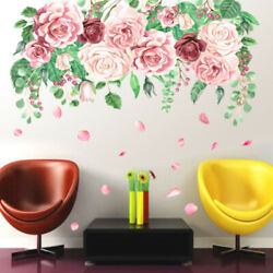 ​Flowers Wall Stickers Art Home Decor Wallpaper Removable for decorations