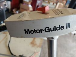1983 Motor-guide Model 2600 Serial Number 54146 Good Condition No Reserve