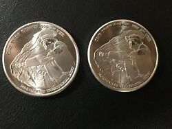 X2 Pan American 1 Troy Oz. .999 Silver Round Northwest Territorial Mint Nwtm