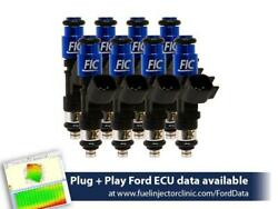 Fuel Injector Clinic 650cc Fuel Inject Set For Ford F150 85-03/lightning 93-95