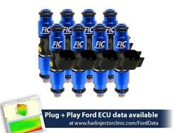 Fuel Injector Clinic 1440cc Fuel Inject Set For Ford F150 04-16 Lightning 99-04