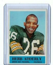 1964 Philadelphia Rc Card 71 Herb Adderly Mint Packers