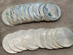 [20 Bullion Rounds] - 1oz Silver Rounds .999 - Indian Chief And Buffalo Eagle