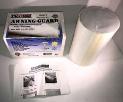 Leisure Time 60099 Stick N Bond Awning Guard For Your Rv - White-new-shipn24hrs