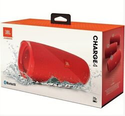Jbl Charge 4 Red Wireless Speaker New Authentic With Warranty Discount