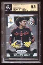2014 World Cup Prizm Limited Edition 143 Guillermo Ochoa Bgs 9.5 Mexico 1/1