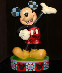 Large Disney Jim Shore The One And Only 24 Tall Mickey Mouse 4037509 Exc