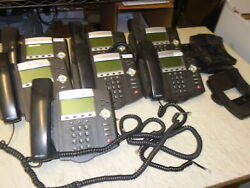 Lot Of 7x Polycom Soundpoint Ip450 Digital Voip Telephone