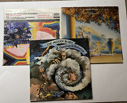 The Moody Blues Album Lot-the Present, Days Of Future Past And Question Of Balance