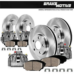 Front+rear Brake Calipers And Rotors Pads For 2012 2012 2013 2014 - 2016 Ford F150