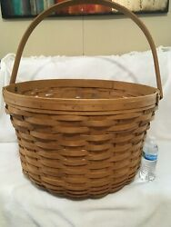 Very Rare Longaberger 2006 Tour With Me Street Basket - It's Huge 26'' Wide