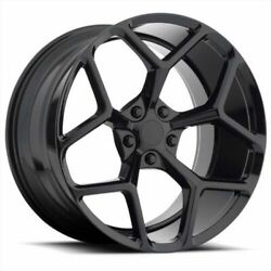 20and039and039 Z28 Mrr 228 Camaro Wheels Gloss Black With Tires Fit Camaro Ss Lt Sensors