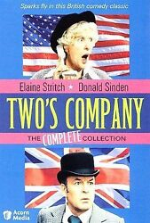 Two's Company - The Complete Series Dvd 1975-79 Elaine Stritch Acorn Media