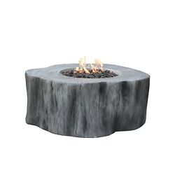 Elementi Manchester Fire Table Classic Grey- Natural Gas