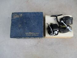 Mitchell 300 Spinning Fishing Reel With Spare Spool And Paper Box Mint