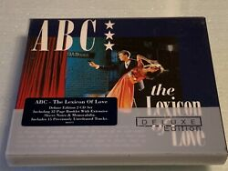 Abc - The Lexicon Of Love Deluxe Edition 2 Cd Set Rare Oop [loads Of Unreleased]