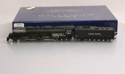 Athearn G97227 Ho Union Pacific 4-6-6-4 With Dcc And Sound Oil Tender 3985 Ln/box