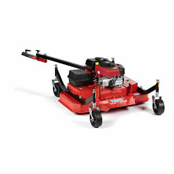 Titan Attachments 48 Atv Tow-behind Finish Mower, Briggs And Stratton Electric