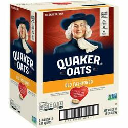 Rolled Oats, Non Gmo Project Verified, Two 64oz Bags In Box, 90 Servings