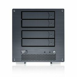 Sans Digital MobileNAS iSCSI 4 Bay Network Storage Server Tower with Intel ...