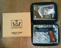 Wa Western Arms Springfield L.a. Vickers Vintage Vintage Collection Toy Gun