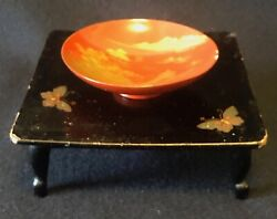 Japan Service Ceremony In Wooden Lacquer And Gold Xix Th Japan Asia