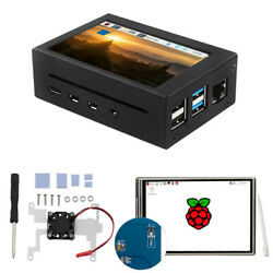 Metal Enclosure Case Optional Kit For Raspberry Pi 4b 3.5 Touch Screen 480320