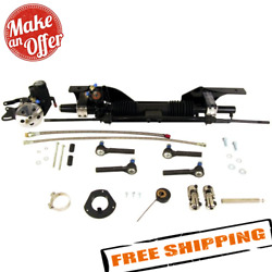 Unisteer 8010830-01 Power Rack And Pinion For Late 67-70 Ford Mustang Small Block