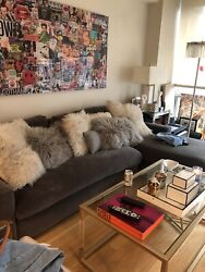 Restoration Hardware Maxwell 2 Piece Sectional Retail 450andrdquo