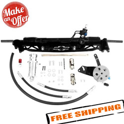 Unisteer 8011650-01 Power Rack And Pinion Kit For 67-72 Chevy C10 With Disc Brakes