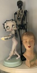 Vintage 80s Betty Boop Figural Store Display Stand