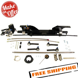 Unisteer 8010890-01 Power Rack And Pinion Kit For 65-66 Ford Mustang Small Block