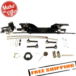 Unisteer 8010920-01 Power Rack And Pinion Kit For Late 1967-1970 Mustang Big Block