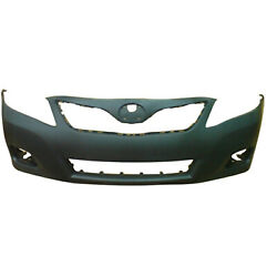 New Premium Fit Front Bumper Cover Ready For Prime/paint For Toyota 5211906958 P