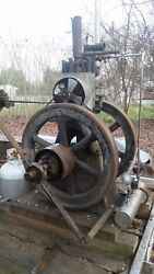 Luther Mfg. Co. Eclipse 4hp Hit And Miss Hot Tube Engine Oil Field