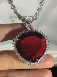 Replica Ruby Titanic Movie Necklace Heart Of The Ocean 18kgp