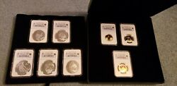 Rare 2007 Canadian Olympic Gold And Silver Coin Set Ngc Pf70 Ultra Cameo