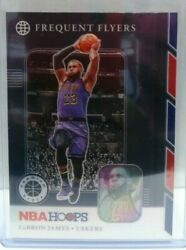 Lebron James 2019-20 Nba Hoops Premium Stock Frequent Flyers Silver Prizm 15