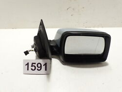 Original Bmw X3 E83 Exterior Mirror Heated Right Light Blue Silver