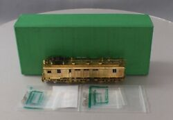 Overland Omi-1905 Brass Ho Milw. Rd. Ef-2 Boxcab Electric Locomotive Ex/box