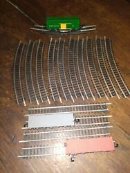 Bachmann N Scale Central Pacific Box Car 2 Flat Cars And 15 Track Pieces