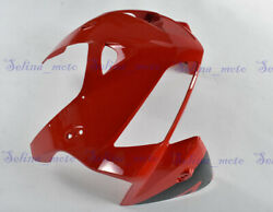 Front Headlight Cowl Nose Fairing Panel Fit For Honda Cbr600rr F5 2005 2006 Red