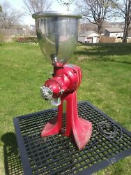 Vintage American Duplex Electric Coffee Cutter Grinder In Working Condition
