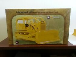 International Td-25 Crawler W/sweep Rops And Winch U.s. Forest Service