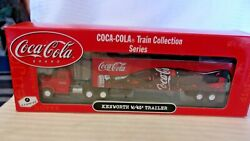Ho Scale Athearn Kenworth Tractor Semi With 45' Trailer Coca-cola Red 8220 Bnos